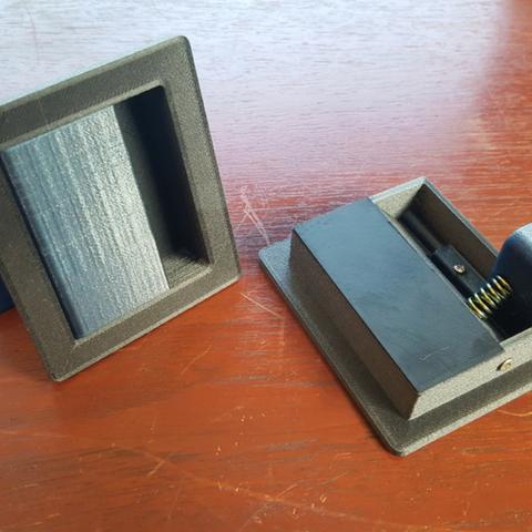 Plan imprimante 3D gatuit Poignées de porte, Job
