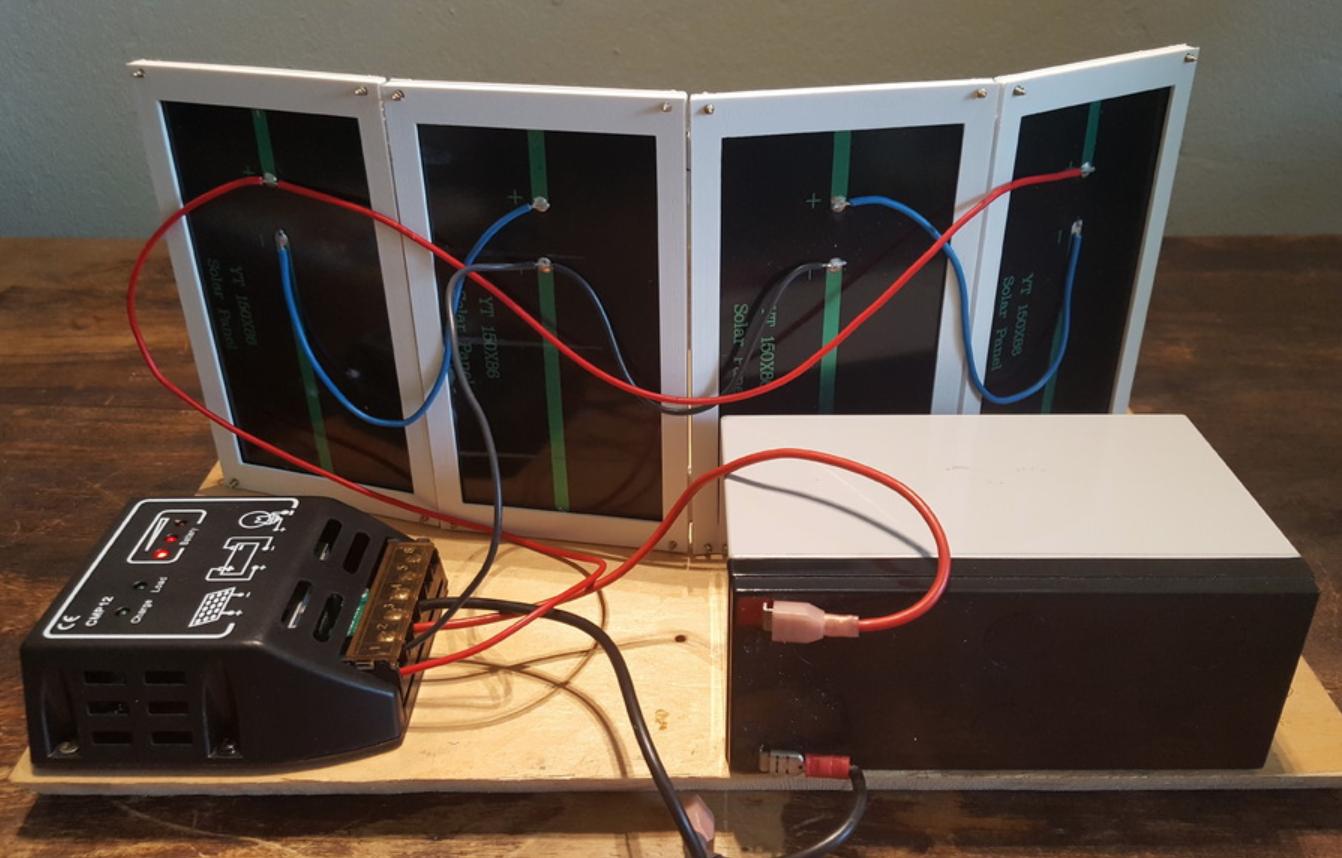 Capture d'écran 2017-11-06 à 16.47.02.png Download free STL file Solar Panel Holder • Object to 3D print, Job