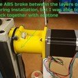 Free 3D printer model Vertex V-HV-4 & HBM BF 25 Vario to Nema 23 bracket, Job