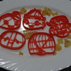 3D printer files Mini Beat Power Rockers, Cutter, Cookie cutter, Mould, adr-1