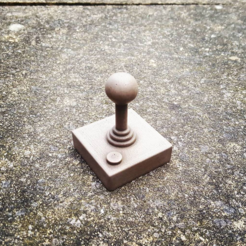 Download free 3D printer files Retro Joystick, Code10100