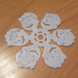 Download free 3D printing templates Fallout Flake, Code10100