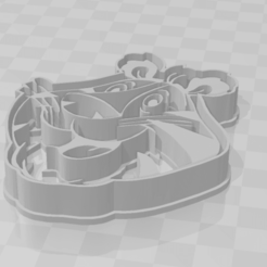 Download STL files Tony Tiger Zucaritas Cereals Cookie Cutter, LeandroZapata
