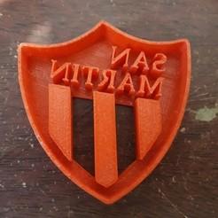 Descargar diseños 3D Cortante de galletas Club Atlético San Martín de San Juan, LeandroZapata