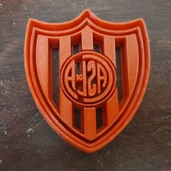 Download 3D print files Club Atlético San Lorenzo de Almagro Cookie cutter, LeandroZapata