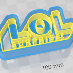 Download 3D print files LOL Logo, LeandroZapata