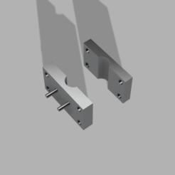 contacteur DE200 v2.png Download free STL file Sensor holder for rod 8mm • 3D printer design, iTq