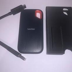 IMG_7283.JPG Download free STL file Case for Sandisk Extreme portable SSDs • 3D print model, gerald85