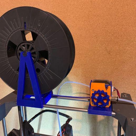 Download free STL file extrudeur déporté discoeasy 200 • 3D printing design, gerald85