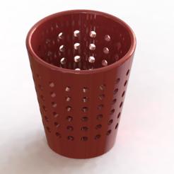 Télécharger plan imprimante 3D Pot à crayon à poids, ben3dcraft