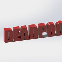 deadpool.JPG Télécharger fichier STL DEADPOOL • Plan pour impression 3D, ben3dcraft