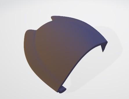 parte 3.jpg Download free STL file Predator mask • 3D printable template, DarkRadamanthys