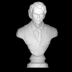 Impresiones 3D gratis Joker Heath_Ledger bust, DarkRadamanthys