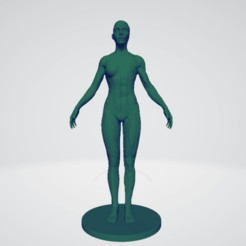 Descargar archivo 3D gratis Female anatomy, DarkRadamanthys