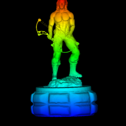 Download 3D printer designs Rambo, DarkRadamanthys