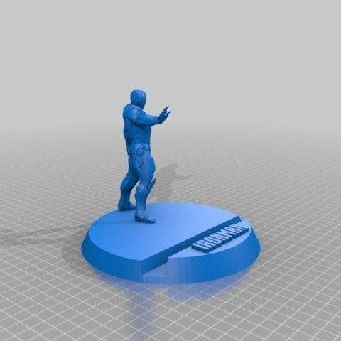 64c14f6575ee51502f41ec6d27bbd19e_preview_featured.jpg Télécharger fichier STL gratuit Iron man Support de téléphone • Objet pour impression 3D, DarkRadamanthys