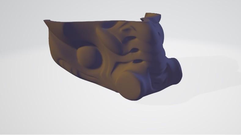 parte1.jpg Download free STL file Predator mask • 3D printable template, DarkRadamanthys