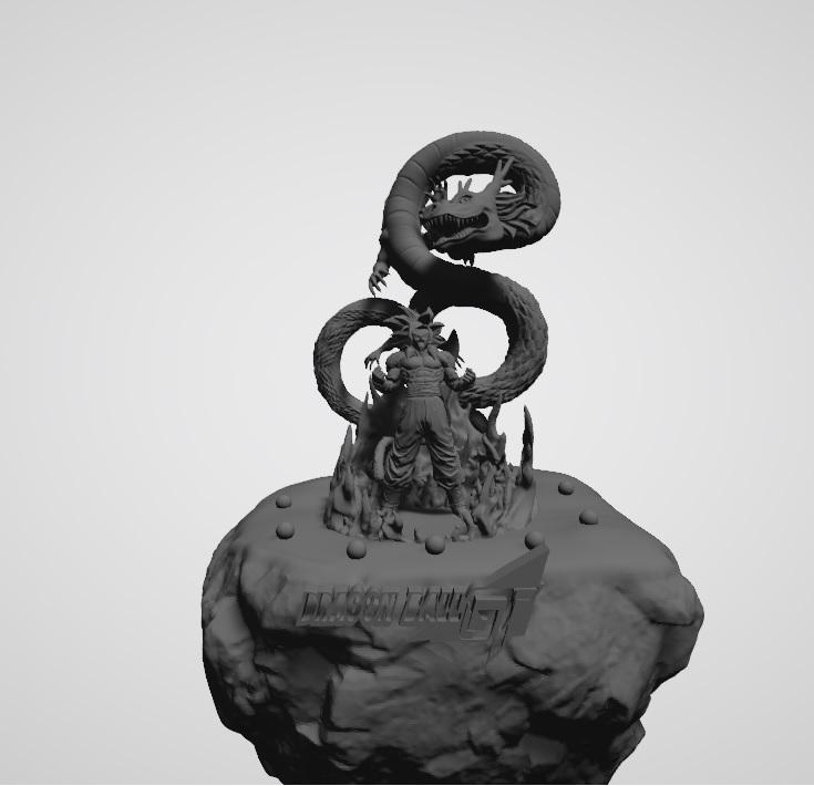 2.jpg Télécharger fichier STL gratuit Diorama Goku phase4 dragon ball GT • Plan pour imprimante 3D, DarkRadamanthys