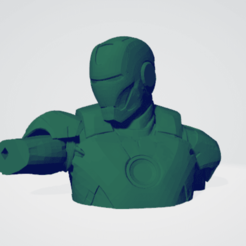 1.png Download free STL file Iron man Phone stand v2 split • 3D printing template, DarkRadamanthys