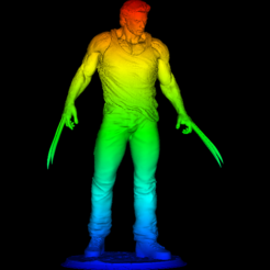 Download free 3D printer files Logan wolverine, DarkRadamanthys