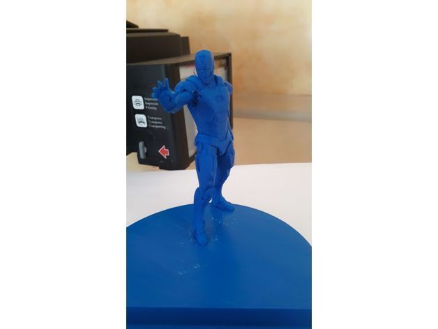 8f7bdd758d02145fc3dda9430bc60a33_preview_featured.jpeg Télécharger fichier STL gratuit Iron man Support de téléphone • Objet pour impression 3D, DarkRadamanthys