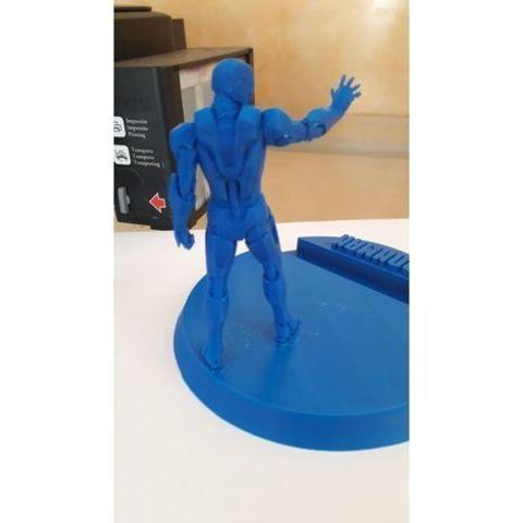 Télécharger plan imprimante 3D gatuit Iron man Support de téléphone, DarkRadamanthys