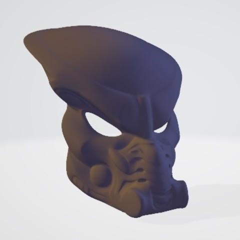 completa outside.jpg Download free STL file Predator mask • 3D printable template, DarkRadamanthys