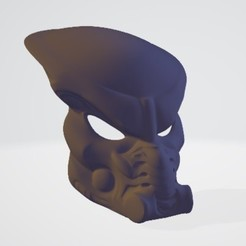 Download free STL file Predator mask, DarkRadamanthys