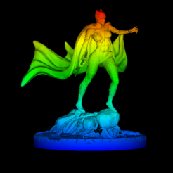 Download free 3D printer designs Black panther woman, DarkRadamanthys