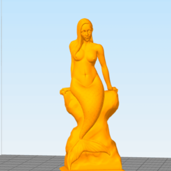 Download free STL files Mermaid, DarkRadamanthys