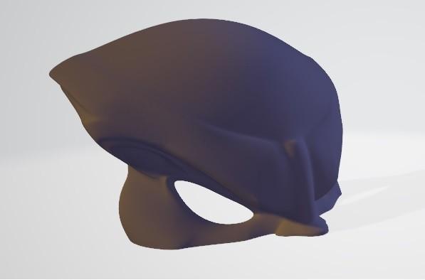 parte 2.jpg Download free STL file Predator mask • 3D printable template, DarkRadamanthys