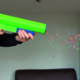 Download free STL file 3D Printed Party Popper Pistol • 3D printer design, MBcreates