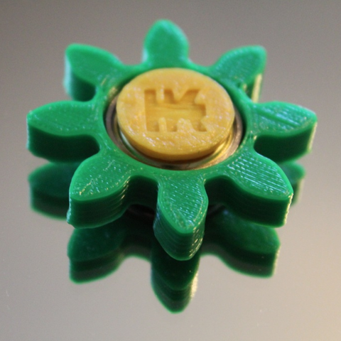 Capture d'écran 2017-06-09 à 09.34.56.png Download free STL file Gear/Flower Spinner • 3D print model, 3DPrintingGurus