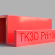 Free 3D model Sleek Business Card Holder, TK3D