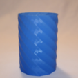 Free STL files Twisted Vase, TK3D