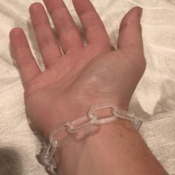 Download free STL file Chain Bracelet , TK3D
