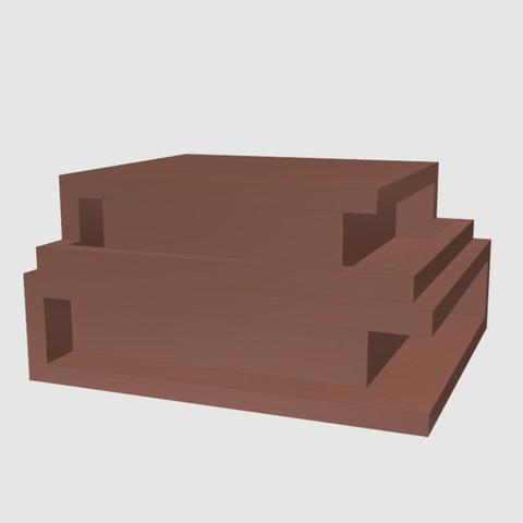 Télécharger fichier imprimante 3D gratuit Maison moderne, TK3D