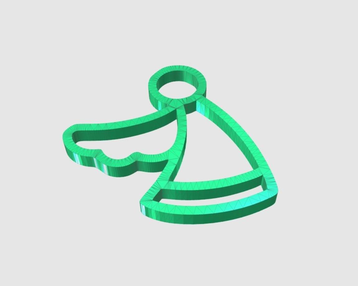 Capture d'écran 2017-05-31 à 17.05.16.png Download free STL file Angel Ornament • 3D print object, 3DPrintingGurus
