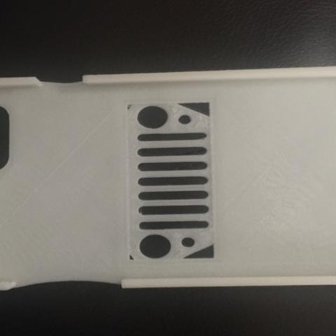Télécharger objet 3D gratuit Jeep Iphone 6 plus case, TK3D