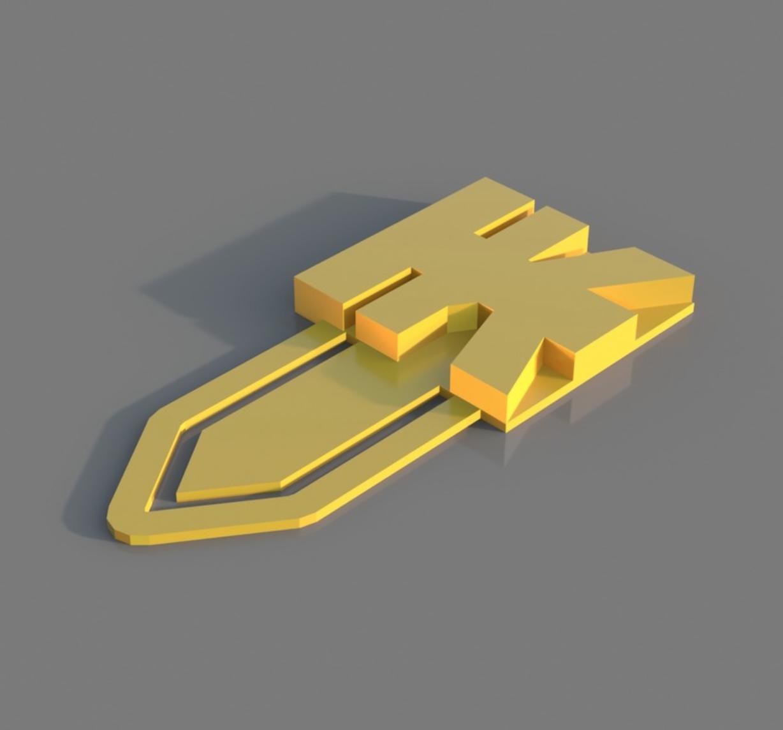 Capture d'écran 2017-12-20 à 11.09.52.png Download free STL file TK Book Mark • 3D printable template, 3DPrintingGurus