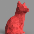 Download free STL file Voxel Fox, TK3D