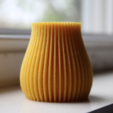 Free 3D print files Linear Abstract Vase, TK3D