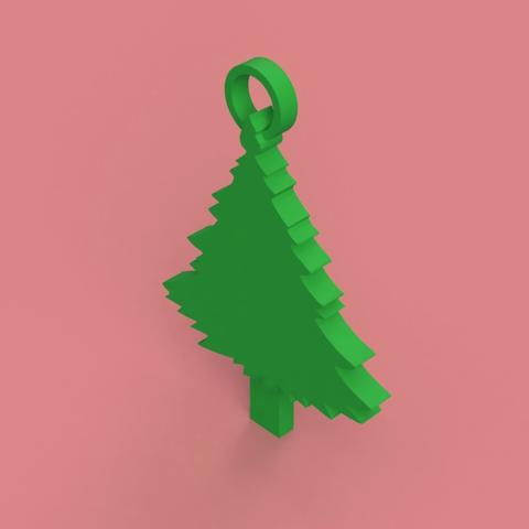 Capture d'écran 2017-12-06 à 16.58.07.png Download free STL file Christmas Tree Key Chain • 3D printable object, 3DPrintingGurus