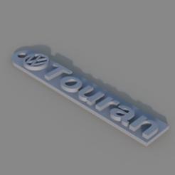 Free 3d printer model  VW Touran Keychain, TK3D