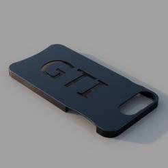 3D printer models Iphone 7/8 Plus GTI Phone Case, TK3D