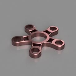 Télécharger plan imprimante 3D gatuit 10mm Nut Fidget Spinner, TK3D
