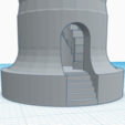 Download free STL file Rook With Staircase • Template to 3D print, 3DPrintingGurus
