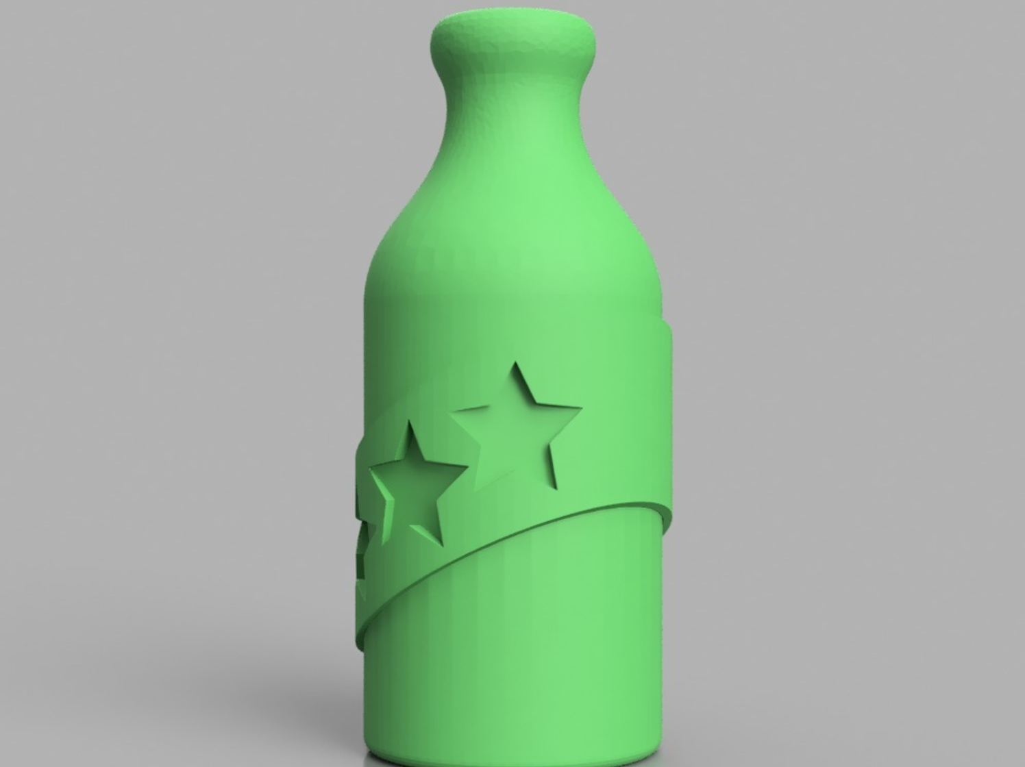 Capture d'écran 2017-06-09 à 09.28.58.png Download free STL file Booze Fighter Bottle and Badge • Model to 3D print, 3DPrintingGurus