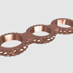 Free 3d printer model Fidget Spinner, TK3D