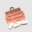 Free 3d printer designs Chinese Love Pendant, TK3D